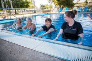 Cloncurry Swimming Pool, Water-based Exercise Prescription.